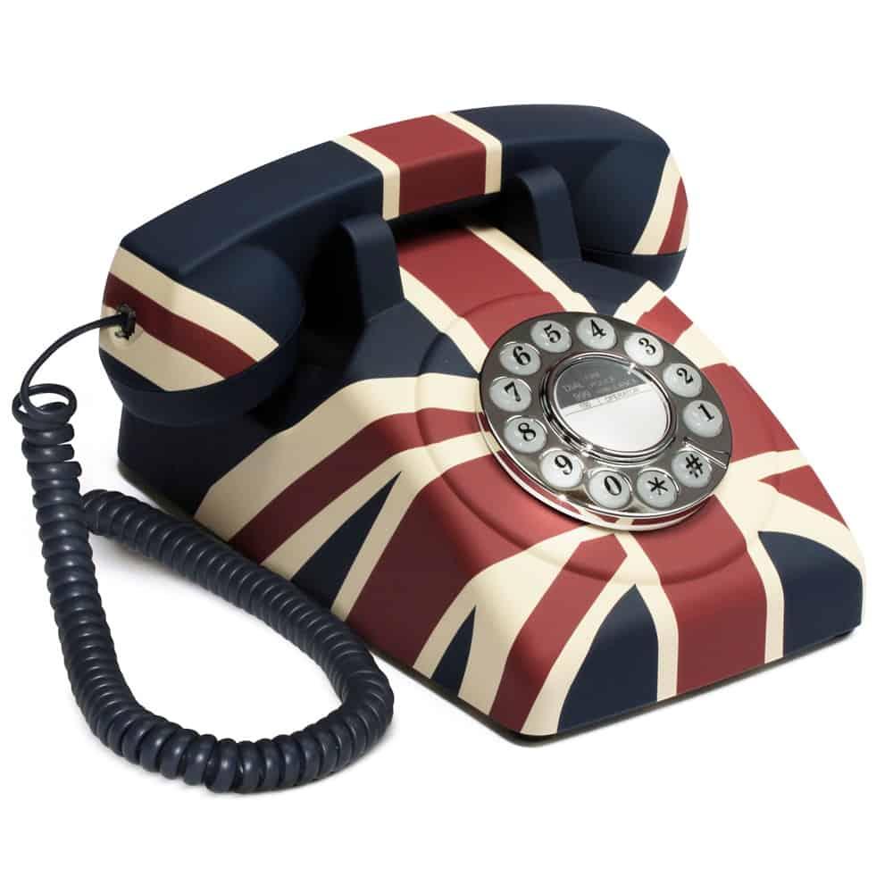 A very British Telephone